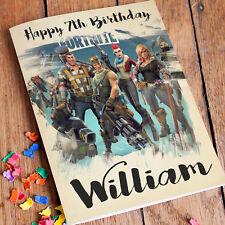 FORTNITE Personalised Birthday Card FREE Shipping | Floss Like a Boss Son Bro