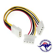 20cm IDE Molex 4 pin Splitter Y Power Cable