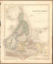 1840 CA antique map-Oriental Islands, Philippines, Bornéo, des Célèbes, SUMATRA