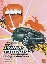 "Toyota AYGO ""RollerCoaster"" 2005 Magazine Advert #3338"