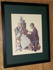 "Norman Rockwell encadrée Imprimer-jeu de mots croisés - 20 ""x16"", Norman Rockwell art"