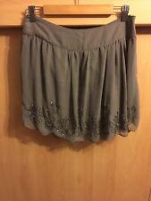 Ladies Sequin Embellished Skirt size 10 12