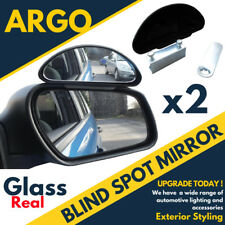Blindspot Mirror Learning Drive Car Van Truck Lorry Wide Angle Backup Safe x 2