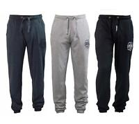 Lonsdale Mens Joggers Tracksuit Bottoms in Grey Charcoal Black Size XS - 4XL