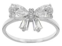 Size 6 - Bella Luce 3.02ctw Rhodium Over Sterling Silver Ring (1.86ctw Dew)