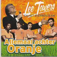 Lee Towers-Allemaal Achter Oranje cd single