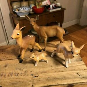 Vintage Mixed Lot Retro Kitsch Deer Bambi Fawn – Great! –