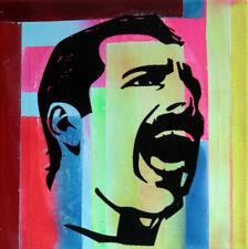 freddy mercury PyB signed tableau pop street art graffiti painting canvas french