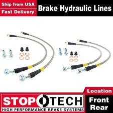 Stoptech Front + Rear Stainless Steel Brake Lines For 06-11 Chevrolet Corvette