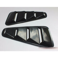 Painted For Ford Mustang V6 2005-2014 Side Window Dust Vent Louver Cover 2PCS