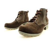 Earth Origins Women's Parker Ankle Boot, Bark Cow Suede, 9.5 W US