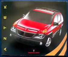 Prospekt brochure 2001 Pontiac Aztek  (USA)