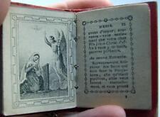 Paroissien des Petits Enfants, Miniature Child's Prayer Book c.1860, 5.7cmx4cm