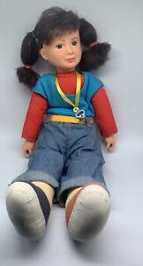 "Punky Brewster Vintage Galoob 20"" Plush Stuffed Doll 1984 NBC TV Series 80s"