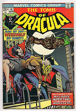 Bronze Age TOMB OF DRACULA #18 1974 VF-  DRACULA VS. WEREWOLF BY NIGHT!