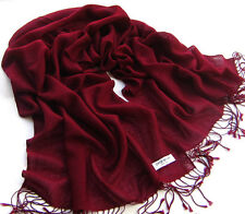 Neu XXL Pashmina Schal Überwurf Stola Tuch Schultertuch Kopftuch Schals 13 Farbe