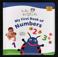 Baby Einstein:  My First Book of  NUMBERS:  NEW  Educational Board Bk  by Disney