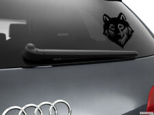 Wolf Werewolf Car Sticker Styling Window Decal, Black