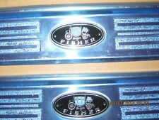 1967 - 69Camaro  Firebird Sill Plates w/ Tag -Pair -Hardware Brand New SHARP!