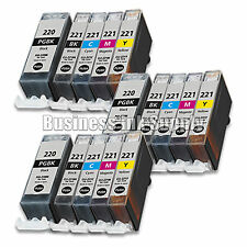 100+ PACK PGI-220 CLI-221 Ink Tank for Canon Printer Pixma iP3600 iP4600 NEW