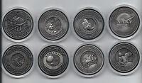 Apollo Program Flown in Space Material 8 Medallion Coin Token Collectors Set
