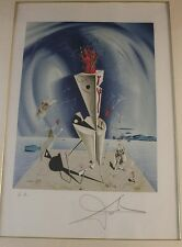 "Salvador Dali (After)- Hand Signed Lithograph ""Apparatus & Hand"""