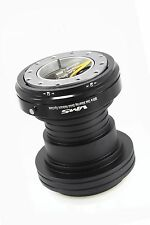 VMS RACING 96-00 HONDA CIVIC STEERING WHEEL HUB QUICK RELEASE COMBO BLACK BODY
