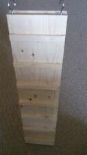 Holzleiter  Kleintier Nagerzubehör aus Fichtenholz-unbehandelt 80x20 cm