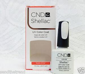 CND Creative Nail SHELLAC Soak Off Gel Polish Colors of Your Choice .25oz/7.3mL