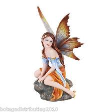 "Autumn Flower 6"" Sitting Fairy Land Legend Figurine Statue Ada de Otonio"
