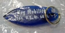 Advertising Plastic Keychain - Key Mobility - Blue Plastic Surf Board New In Bag