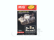 /72 Tiger I Detail Set: Early & Late Hatches & Engine for Revell