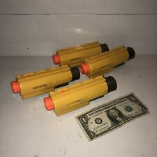 LOT OF 4 Nerf N-Strike Red Dot Laser Tactical Light Scope Attachment Sight Fun