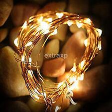 15 Led Starry Silver Wire Light String Cork Shaped LED Bottle Wine Stopper Lamp