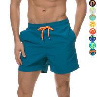 Men's Quick Dry Swim Trunks Bathing Suit Beach Shorts Waterproof Lightweight