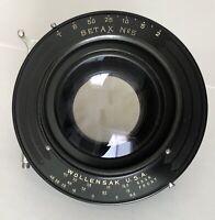 "Excellent TT&H Cooke XV Triple Convertible Anastigmat 312mm 12 1/4"" lens f/6.8"