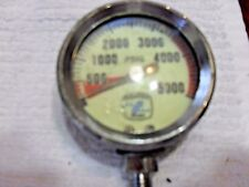 Sherwood Standard 5,000 Psi Gauge with hose and Hp spool