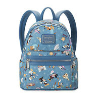 Disney Parks Disneyland Theme Mickey and Minnie Mouse Mini Backpack by Loungefly