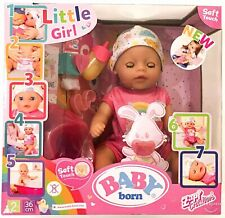Baby Born Soft Touch Little Girl Doll 36cm Kids Xmas Gift Ideas Toy For 2+ Years
