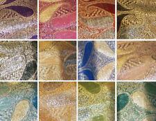 On Sale Fashion Metallic Paisley Pashmina Scarf Shawl Wrap 1 Dozen, Assort Color