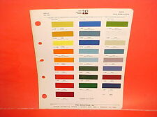 1972 VOLKSWAGEN VW KARMANN GHIA BEETLE CONVERTIBLE TRANSPORTER KOMBI PAINT CHIPS