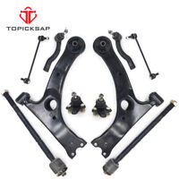 NEW 10PCS CONTROL ARM BALL JOINT SWAY BAR TIE ROD KIT FOR 03-08 TOYOTA COROLLA