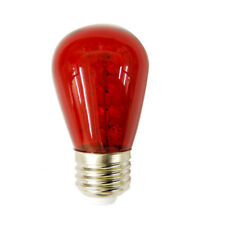 Sunlite 1.1W 120V S14 Sign 30LED Red Light Bulb