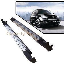 07-11 Honda CRV Silver Running Boards Pair Set Side Step OE Style Aluminum Bar