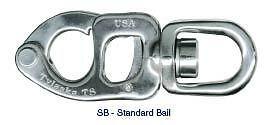 Tylaska T8 Standard Bail Snap Shackle