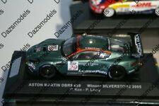 Ixo Aston Martin Racing DBR9 Winner Silverstone 2009 P.Kox 1:43 05-AMR-SV-43