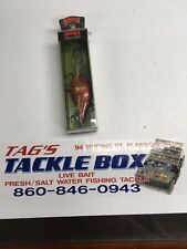 RAPALA DT 16's---1 DARK BROWN CRAW COLORED FISHING LURES