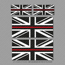 """125 /> 1000 Small Union Jack Stickers With Without Text /""""Made In Britain/"""""""