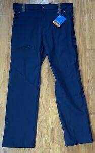 Columbia Triple Canyon Fall Hiking Navy Pants EM0054-464, Men's Size 30x32 - NWT