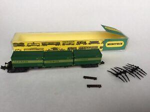 Minitrix n gauge - Container Wagon 'Schenker' - 3511